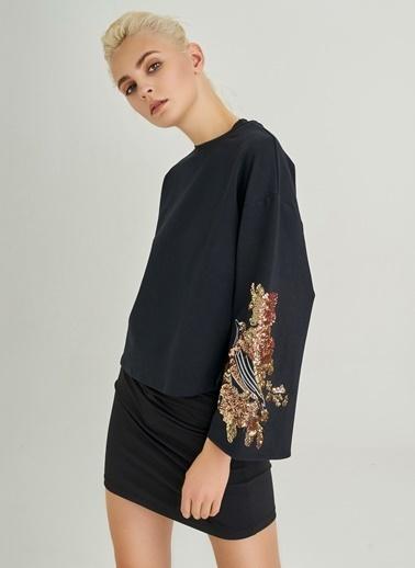 Payet İşlemeli Sweatshirt-People By Fabrika